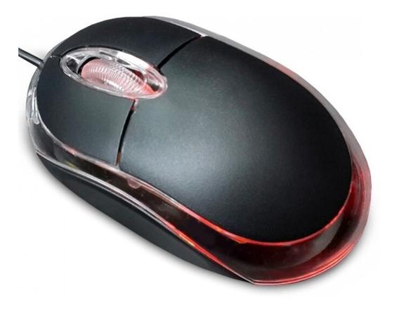 Mouse Optico Imexx Usb Negro Ime-26300 Pc Laptop