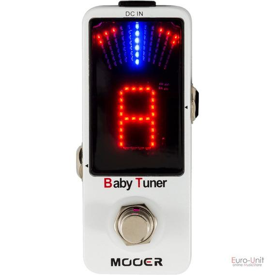 Pedal Mooer Afinador Eletrônico Baby Tuner