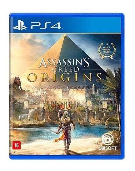 Assassins Creed Origins Ps4 - Mídia Física