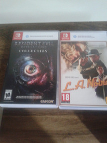 Jogos Nitendo Switch L.a Noire Resident Evil