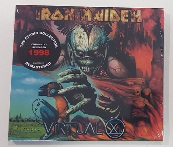 Iron Maiden - Virtual Xi Digipack 2019