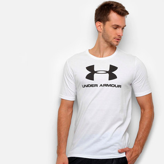 Camiseta Under Armour Sportstyle Logo 19 Branco - Original
