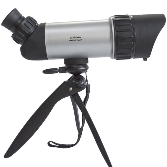 Monóculo Luneta 10x50 Tático Telescópio Duplo Foco Lorben