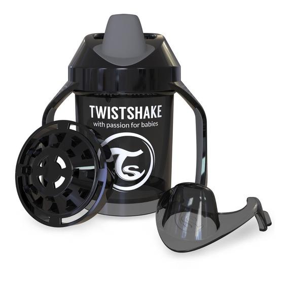 Vaso Entrenador 230ml 4+m Negro Twistshake