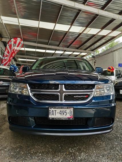 Dodge Journey 2.4 Se 7 Pas. At Unico Dueño Factura Agencia
