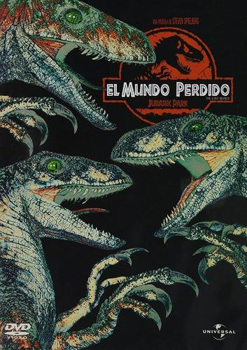 El Mundo Perdido Jurassic Park 2 Dos Pelicula Dvd