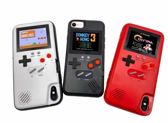 Case Gameboy 36 Juegos Con Mario Bros iPhone Del 6 Al Xsmax