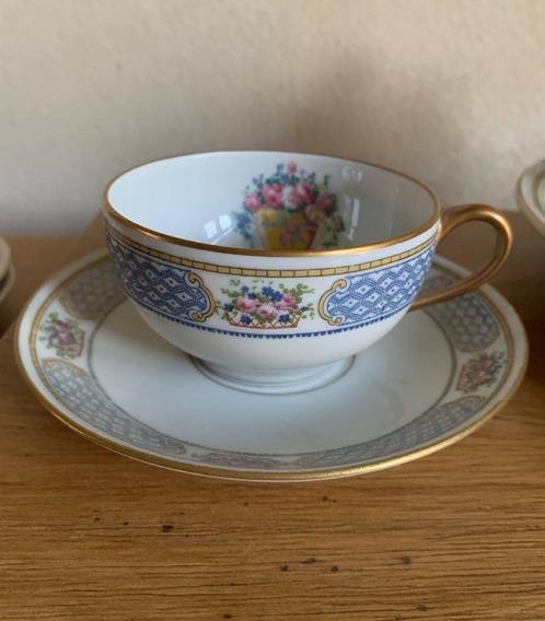 Duo De Te Porcelana Limoges