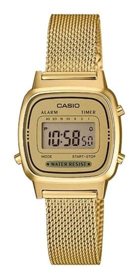 Relógio Casio Vintage Mini - La670wemy-9df