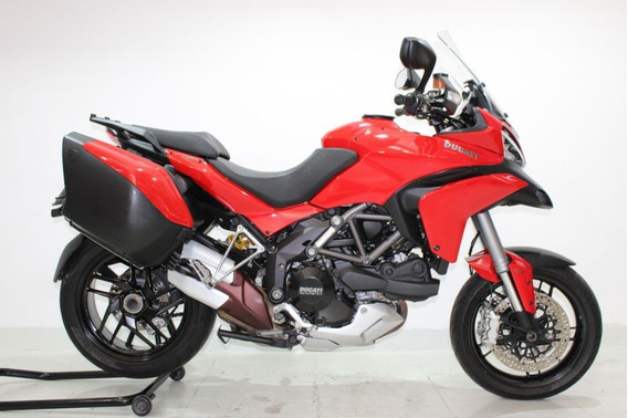 Ducati Multistrada 1200 S Touring 2015 Vermelha