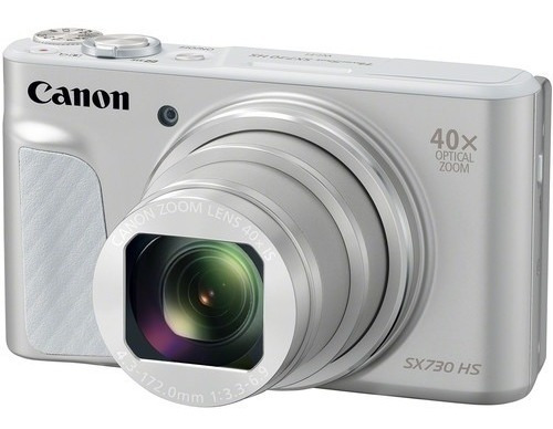 Câmera Canon Powershot Sx730 Hs 20.3mp 40x Prata 12x S/juros