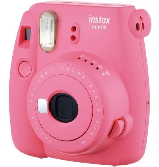 Câmera Fujifilm Instax Mini 9 - Rosa Flamingo