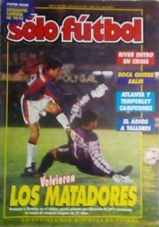 Solo Futbol N°518.atlanta Y Temperley Campeones. San Lorenzo