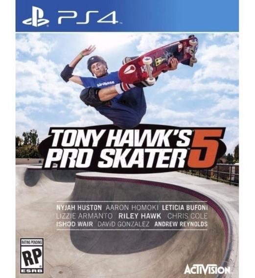 Tony Hawk 5 Ps4 Original**1