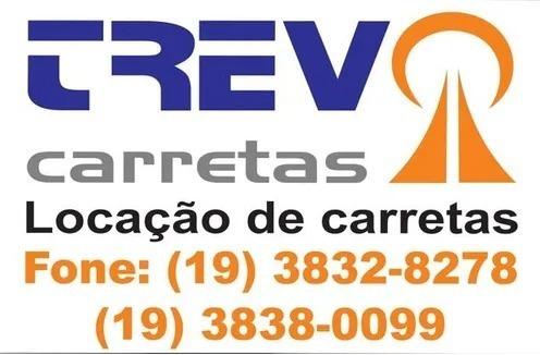 Aluguel / Locação De Carreta (4x2 E 6x2) Sider 28/30 Paletes