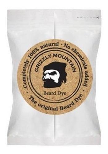 Orgánica Y Natural Negro Barba Tinte Con Una Base Orgánica M