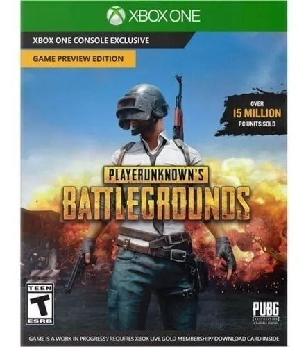 Playerunknowns Battlegrounds Xbox One - Pubg Codigo 25 Dig