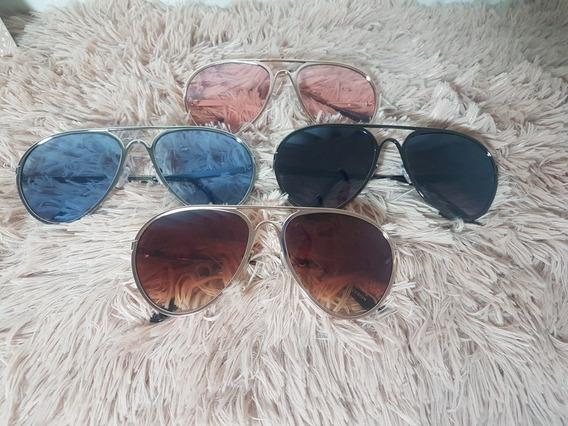 Óculos De Sol + Caixinha De Luxo