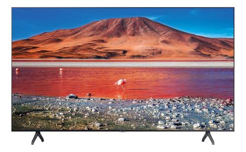 "Imagen 1 de 7 de Smart TV Samsung Series 7 UN58TU7000FXZX LED 4K 58"" 110V-127V"
