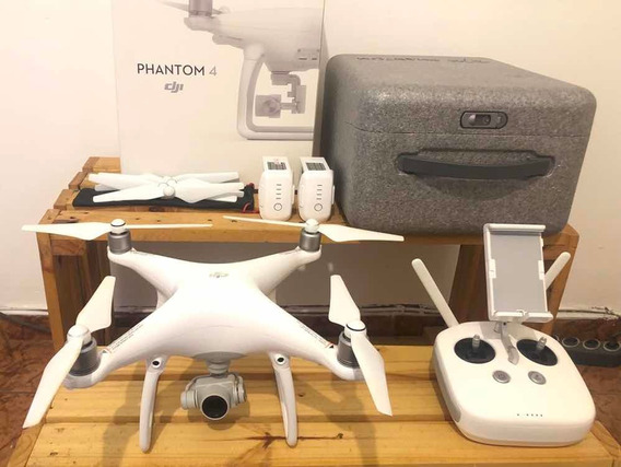 Drone Dji Phantom 4 + iPad + Acessórios