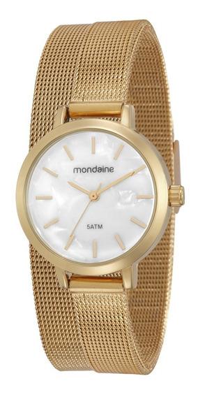 Relógio Mondaine Feminino Dourado - 53597lpmvde2