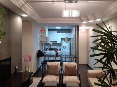 Apartamento (tipo - Padrao) 3 Dormitórios/suite, Cozinha Planejada, Portaria 24hs, Lazer, Salão De Festa, Elevador, Em Condomínio Fechado - 61700ve