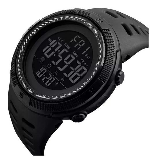 Relógio Masculino Digital À Prova D` Água Skmei 1251