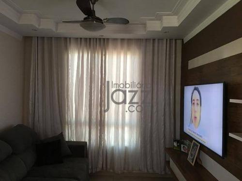 Lindo Apartamento, Com 2 Dormitórios À Venda, 43 M² Por R$ 170.000 - Matão - Sumaré/sp - Ap5117