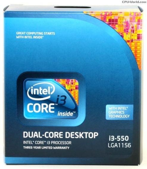 Processador Intel Core I3 550 3.2ghz Lga 1156