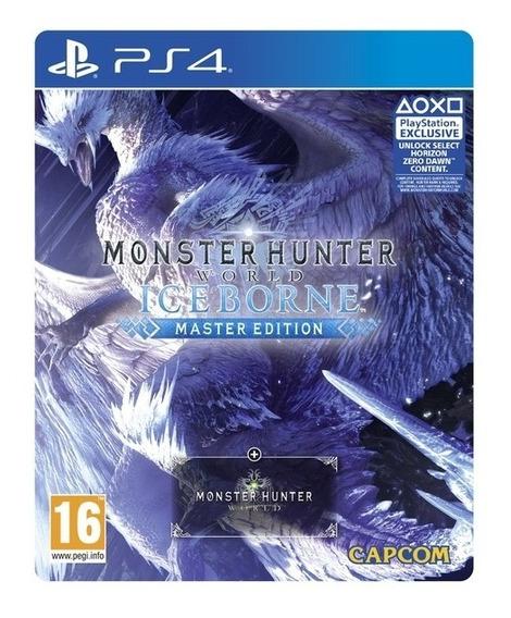 Monster Hunter World Iceborne Master Edition- Ps4