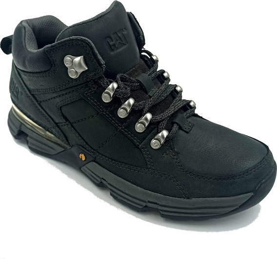 Zapato Caterpillar Syntax Mid Blackout Color Negro Hombre