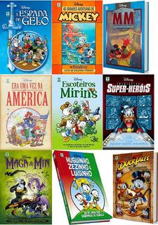 2 Disney Capa Dura À Sua Escolha: Escoteiros Mirins; Maga E