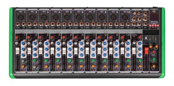 Mesa De Som Probass Pm1624 Usb Bt (110v) Pm 1624 Pro Bass