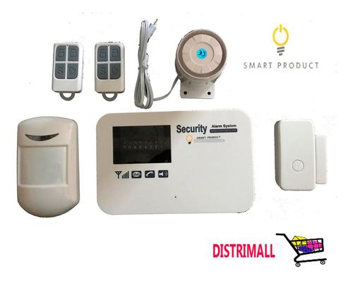 Imagen 1 de 4 de Alarma Gsm Inalámbrica, Seguridad, Casa, Hogar, Oficina