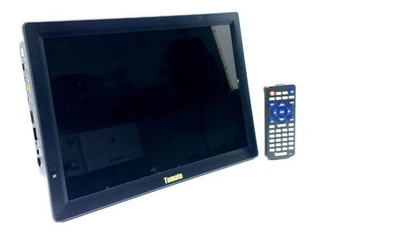 Tv Digital Portátil Led Monitorhd 14 Polegadas Hdmi Usb Vga