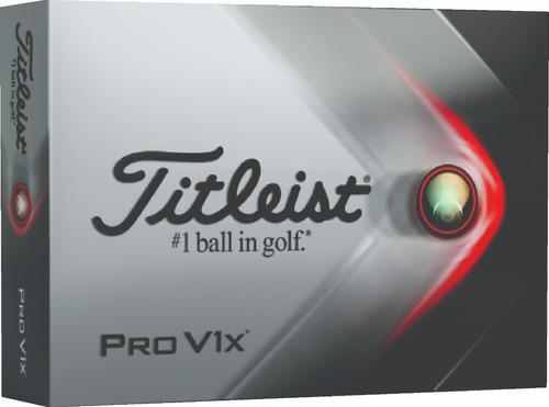 Imagen 1 de 6 de Golf Center Pelotas Titleist Pro V1x   Docena 6c S/int