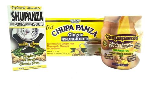 Kit Completo Chupa Panza, Capsulas, Gel Y Te  Envio Hoy