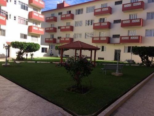 Apartamento No Centro De Itanhaém 200m Do Mar 3 Dorm 5469