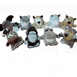 Títeres Peluche Niños Marca Nici Animales Marioneta X1 Und