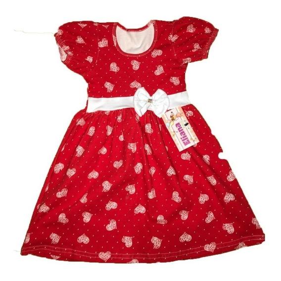 Vestido Infantil Boneca Kit Com 9 Peças Atacado