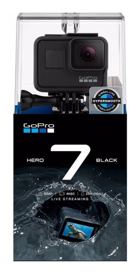Camera Digital Gopro Hero 7 Black + Cartão Class 10 32gb