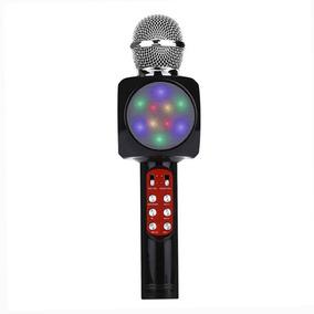 Sem Fio Bluetooth Microfone Auditivo Móvel Telefone Karaoke