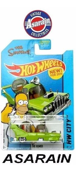 The Homer Simpsons Hot Wheels 1/64