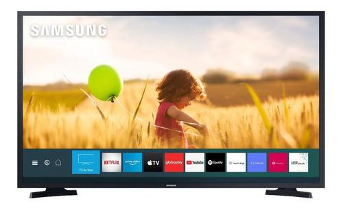 Imagem 1 de 5 de Smart Tv Led 43 Polegadas Samsung Lh43be 2 Hdmi 1 Usb Wifi P