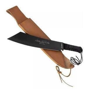 Faca Rambo 4 44cm Preto - Facão Loja Oficial Nfe Full Tang