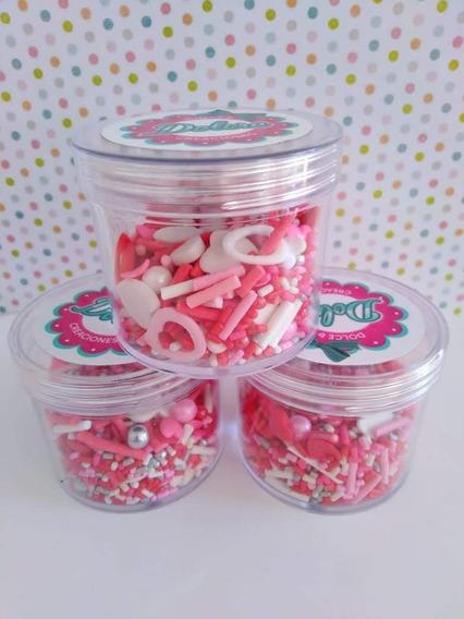 Sprinkles Comestibles (granas) - Lluvia De Amor