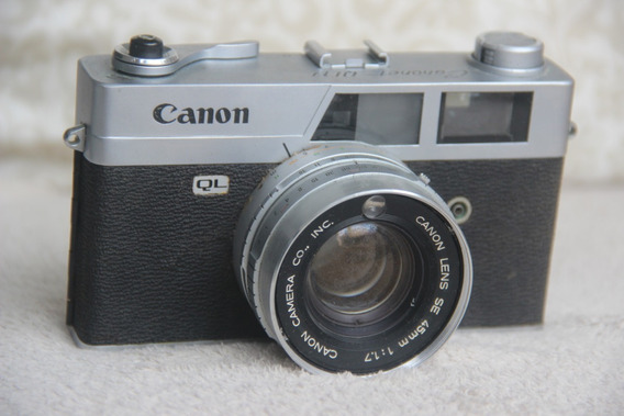 Câmera Fotográfica Canon Canonet Ql17 Rangefinder