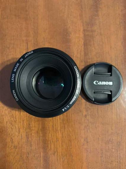 Lente Canon Ef 50mm 1.4