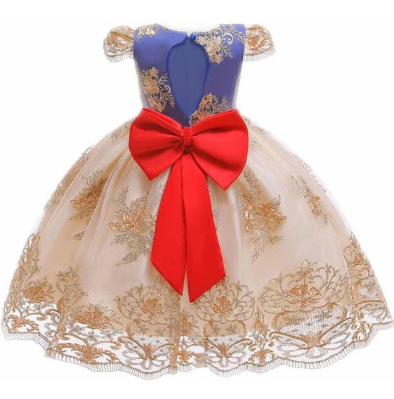 Vestido Princesa Tallas 6 Y 7 Años Envío Gratis