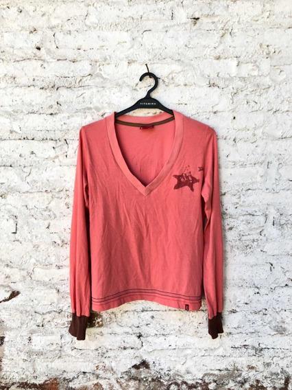 Camiseta Levis Coral Talle L (oj)